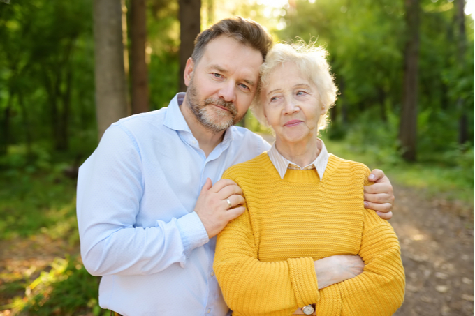Power of Attorney for Property, image of Mother and Son
