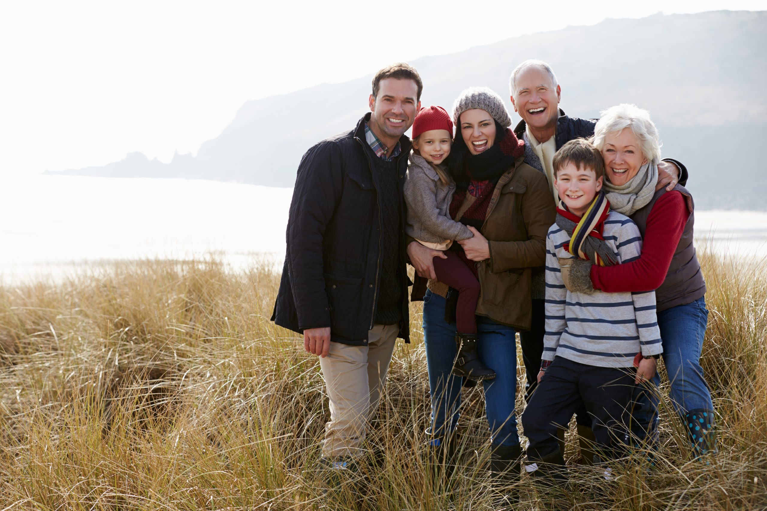 brown lawyers blog, how to stop the inheritance, happy family in a field